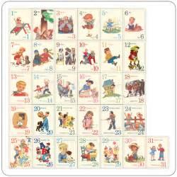 mini children 39 s 123 vintage flashcards fl 12101 pretty