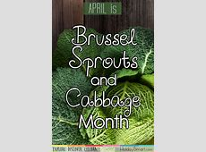 Brussel Sprouts and Cabbage Month HolidaySmart