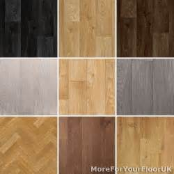 wood plank vinyl flooring roll quality lino anti slip kitchen bathroom cheap ebay