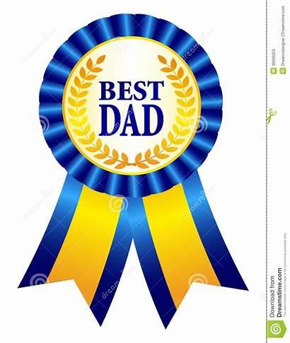 Dad Clipart Papa Rosette Ribbon Number Ruban