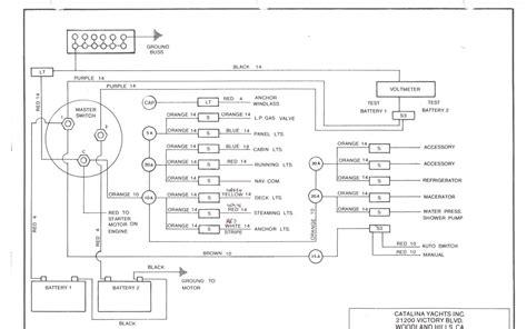 Battery Monitor Wiring Catalina International
