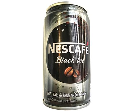 No caffeine after 2 p.m. Nescafé Black Ice Ready to Drink Coffee