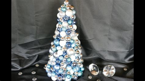 Weihnachtsbasteln-tannenbaum Basteln Aus Kugeln-diy