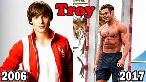 High School Musical Before and After 2017 | High School ...