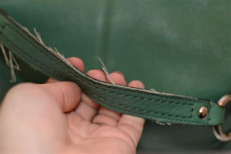 how to fix a leather how to fix a leather purse warfieldfamily