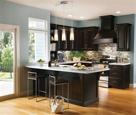 designer kitchens with white cabinets contemporary espresso kitchen cabinets 8669