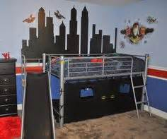 superheroes and sword fighting on pinterest batman With choosing boys bunk beds for your superhero