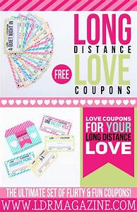 long distance love coupons free printable long With coupon book template for boyfriend