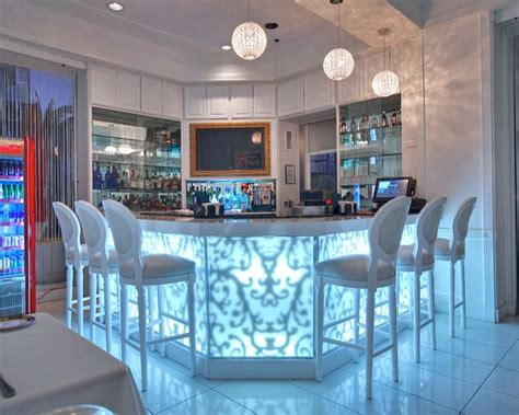 Fancy Home Bar by Awesome Modern Home Bar With Glowy Table And Fancy Bar