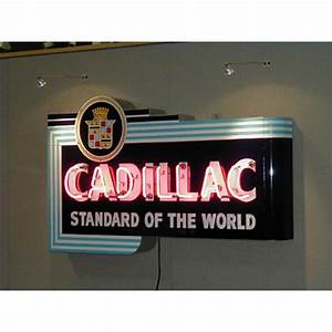 Cadillac Sign Chevrolet Neon Sign