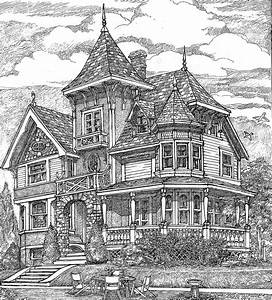 Richly, Detailed, Exclusive, Victorian, House, Plan