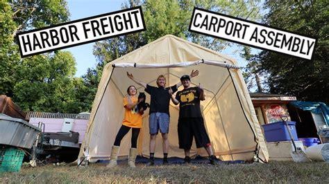 harbor freight carport assembly carports garages