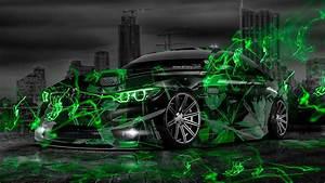 BMW M4 Anime Aerography Naruto City Car 2014 el Tony