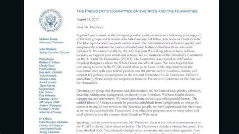 hidden message   wh arts committees letter