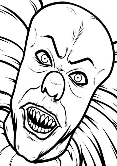 disegni spaventosi  halloween da colorare