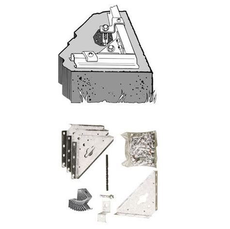 Shed Anchor Kit by Arrow Storage Sheds Concrete Anchor Kit System Ak100
