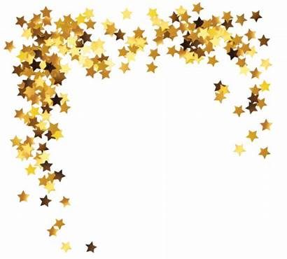 Sticker Gold Glitter Stars Save Sign