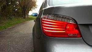 Bmw E60 Lights Bmw E60 Lci Taillights Youtube