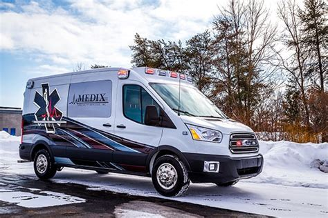 2015 Medix Ford Transit Type Ii Ambulance