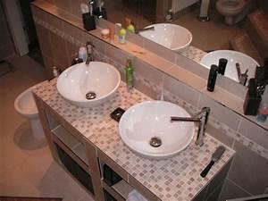 Grande Vasque à Poser : salle de bain 4 photos kris ~ Dailycaller-alerts.com Idées de Décoration