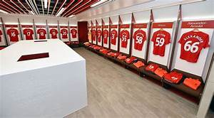 Inside the new Liverpool dressing room - Reds revamp home