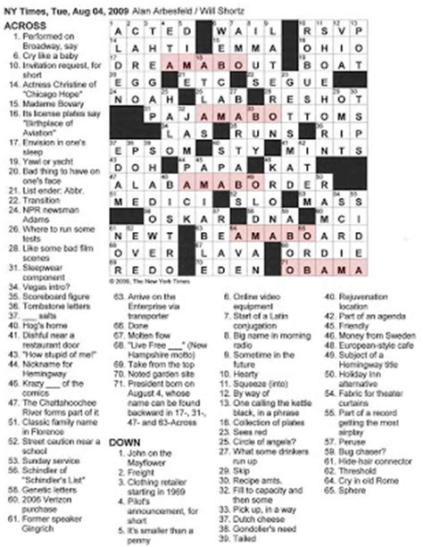 theater curtain fabric crossword the new york times crossword in 08 04 09 happy