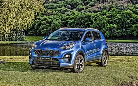 wallpapers kia sportage  hdr offroad