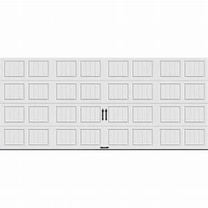 clopay gallery collection 16 ft x 7 ft 65 r value With 16 x 9 insulated garage door