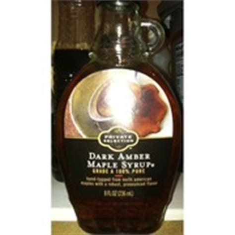 Kroger Bloomfield Maple by Kroger Maple Syrup 100 Calories Nutrition
