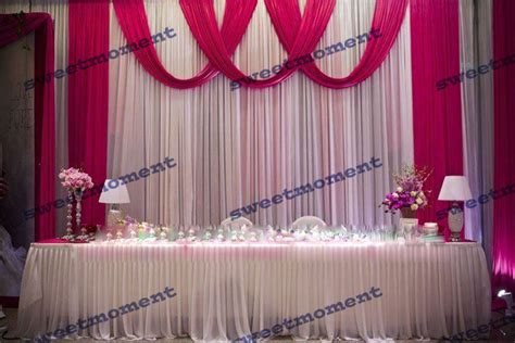 aliexpress buy 3x6m sheer wedding curtain with