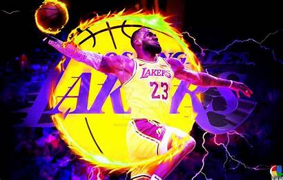 Lebron James King Lakers Cool Dunk Wallpapers