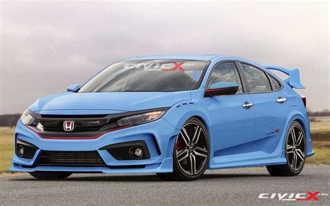 2018 Honda Civic Type R Maintain The Traditional Dish Of