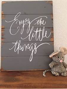 Little things, Wood signs and Signs on Pinterest