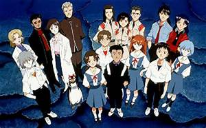 File Characters of Evangelion