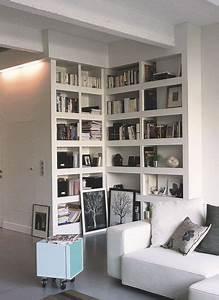 Bibliotheque Angle Ikea : biblioth que meuble 11 options pour ranger ses livres angles ranger et espace ~ Teatrodelosmanantiales.com Idées de Décoration