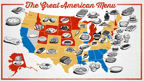 cuisine by region the great menu foods of the states ranked and