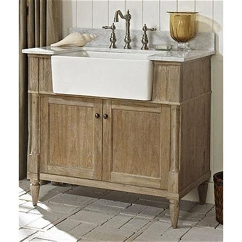 Rustic Modern Bathroom Vanities by Fairmont Designs Rustic Chic 36 Quot Farmhouse Vanity
