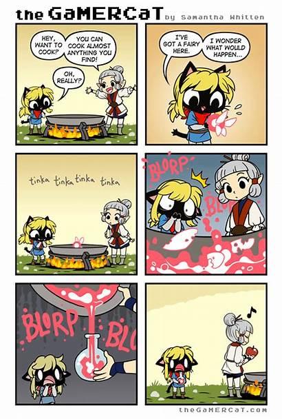 Zelda Gamer Cat Legend Gamercat Comics Funny