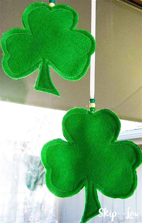 shamrock template  lucky shamrocks skip   lou