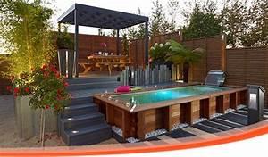 amenager son exterieur recherche google jardin With photos de bassins de jardin 11 installation pergola et claustra de jardin
