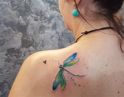 notable dragonfly tattoos amazing tattoo ideas