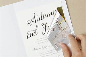 how to diy foil wedding invitations diy gold foil printing With gold leaf wedding invitations diy