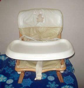 Solid Wood Eddie Bauer High Chair by Eddie Bauer Wood High Chair Babby Toddler Feeding Chair