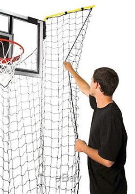 basketball net adjustable portable return catch system