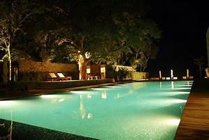 Impressive swimming pool lights - pool lighting ideas and