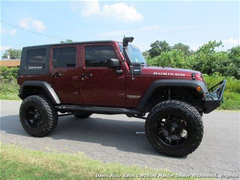 2008 jeep wrangler maroon 2008 jeep wrangler unlimited rubicon