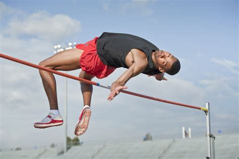 Illustrated High Jump Technique