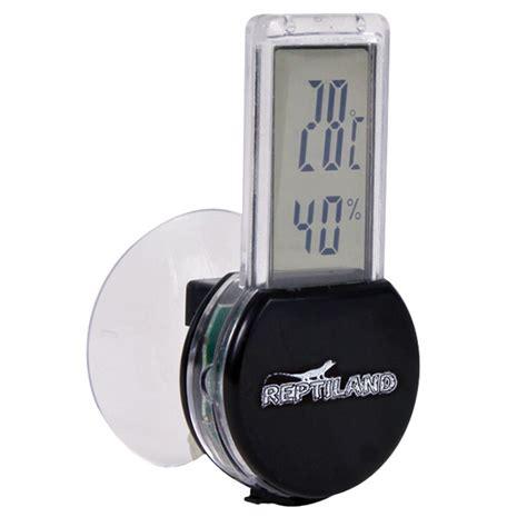 Terrarium Heizung Selber Bauen by Reptiland Digital Thermometer Und Hygrometer Kaufen Bei