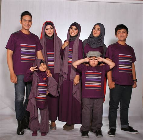 model baju muslim keluarga elegan terbaru foto