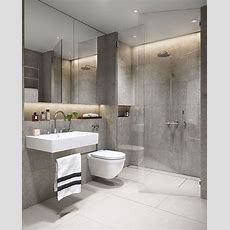 19 Excellent Grey Bathroom Ideas  Small House Plans